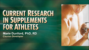 AFPA: Current Research in Supplements for Athletes Course-NT