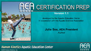 AEA Certification Prep Course-Part A Self-Study Online, Version 1.1-T