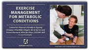 Exercise Management for Metabolic Conditions Course With eBook