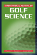 International Journal of Golf Science E-Version Subscription Cover