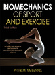 Biomechanics of Sport and Exercise 3rd Edition eBook With Web Resource Cover