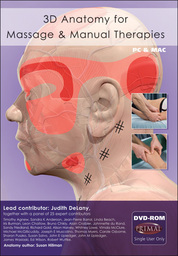 3D Anatomy for Massage & Manual Therapies DVD