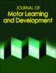 Journal of Motor Learning and Development Online Subscription Cover