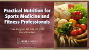 canfitpro: Practical Nutrition for Sports Medicine and Fitness Professionals-NT