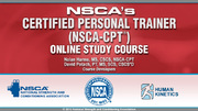 NSCA's Certified Personal Trainer (NSCA-CPT) Enhanced Online Study/CE Course With Book