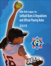 BRL 2013 Softball Rules and Regulations eBook