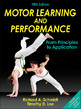 Motor Learning and Performance 5th Edition With Web Study Guide Cover