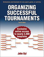 Organizing Successful Tournaments 4th Edition eBook