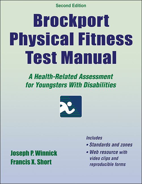 Brockport Physical Fitness Test Manual 2nd Edition With Web Resource