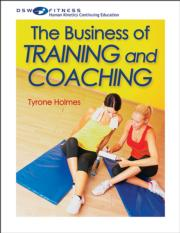 The Business of Training and Coaching Print CE Course