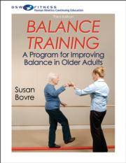 Balance Training Print CE Course-3rd Edition With Book
