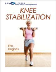Knee Stabilization Print CE Course