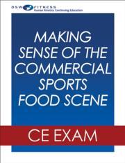 Making Sense of the Commercial Food Scene Webinar CE Exam