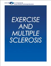 Exercise and Multiple Sclerosis Online CE Course