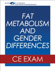 Fat Metabolism and Gender Differences Online CE Course