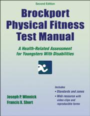 Brockport Physical Fitness Test Manual 2nd Edition eBook With Web Resource