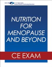 Nutrition for Menopause and Beyond Online CE Course
