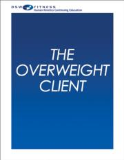 The Overweight Client Online CE Course