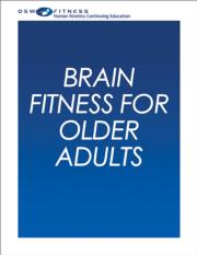 Brain Fitness for Older Adults Print CE Course