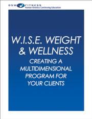 W.I.S.E. Weight & Wellness CE Webinar Series