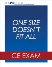 One Size Doesn't Fit All: Practical Tips for Creating a Social Media Strategy Webinar CE Exam
