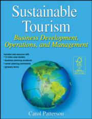 Sustainable Tourism eBook With Web Resource