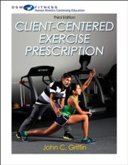 Client-Centered Exercise Prescription Online CE Course-3rd Edition