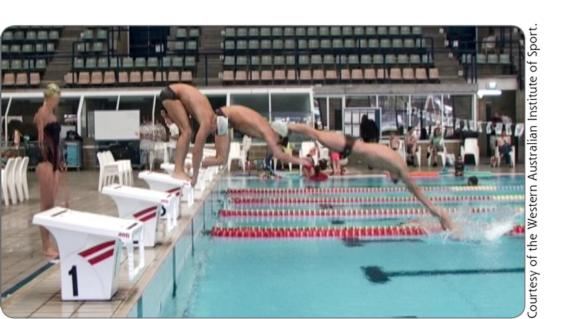 Science of Swimming Faster: Dive starts