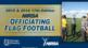 NIRSA Officiating Flag Football (2015-2016) Online Course Cover