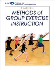 Methods of Group Exercise Instruction Print CE Course-3rd Edition