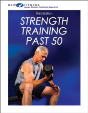 Strength Training Past 50 Print CE Course-3rd Edition