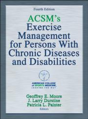 ACSM's Exercise Management for Persons with Chronic Diseases and Disabilities Presentation Package-4th Edition