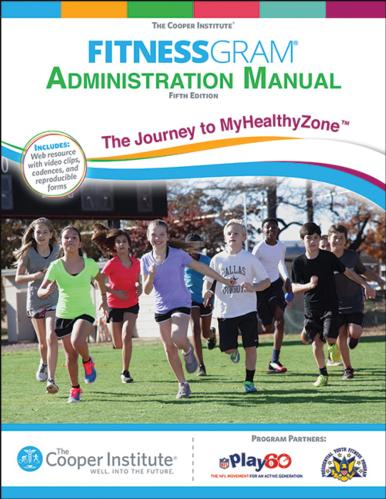 FitnessGram Administration Manual 5th Edition With Web