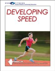 Developing Speed Print CE Course