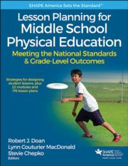 Lesson Planning for Middle School Physical Education eBook With Web Resource