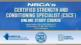 NSCA's Certified Strength and Conditioning Specialist (CSCS) Enhanced Online Study/CE Course With eBook-4th Edition Cover