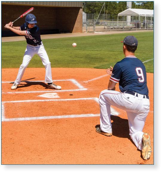 Figure 5.4 Soft toss drill.