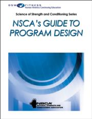 NSCA's Guide to Program Design Print CE Course