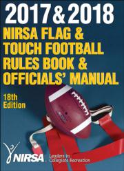 2017 & 2018 NIRSA Flag & Touch Football Rules Book & Officials' Manual 18th Edition eBook