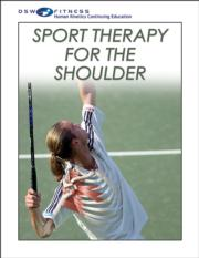 Sport Therapy for the Shoulder Print CE Course