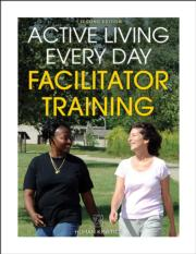 Active Living Every Day Facilitator Training Print Course-2nd Edition