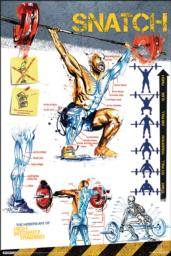 The Modern Art of High Intensity Training Poster