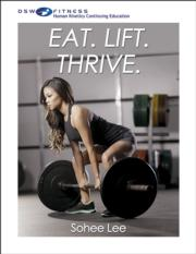 Eat.Lift.Thrive. With CE Exam
