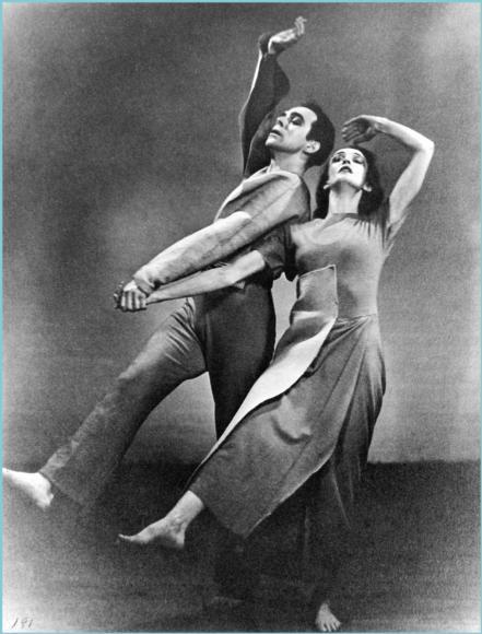 Charles Weidman and Doris Humphrey in (1935).