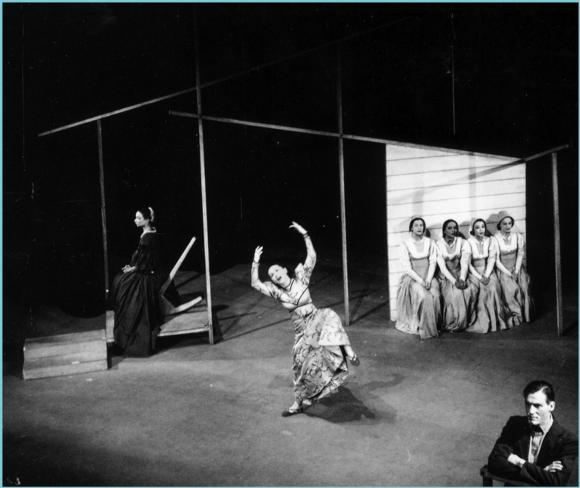(1944), choreographed by Martha Graham and featuring Nina Fonaroff and Erick Hawkins.