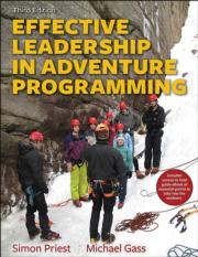 Effective Leadership in Adventure Programming 3rd Edition Ebook With Field Handbook