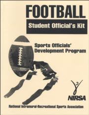Flag Football Student Officials Kit 2017 & 2018