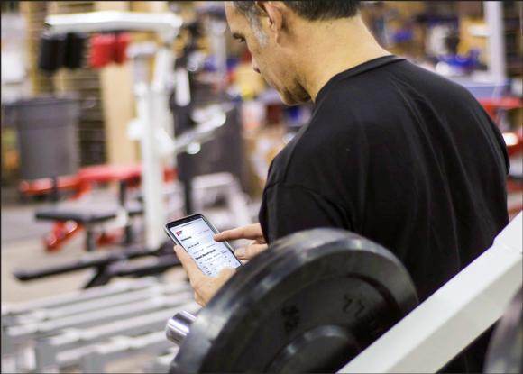 With ever-expanding technology, workout programs such as BFS can now be programmed into cell phones and tablets.