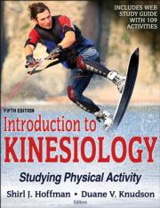 Introduction to Kinesiology 5th Edition eBook With Web Study Guide