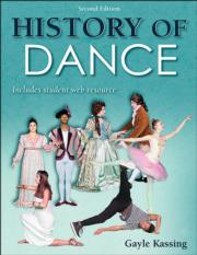 History of Dance Presentation Package-2nd Edition